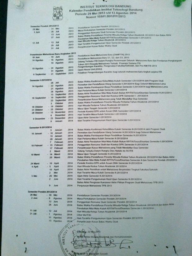 Kalender Akademik