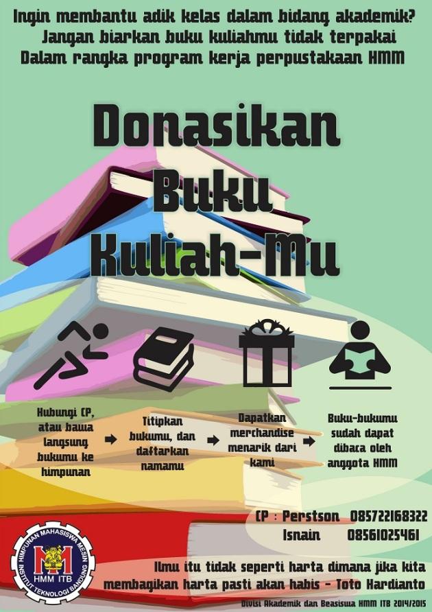 Poster perpustakaan HMM